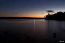 Cyprus Lake im Sternenlicht