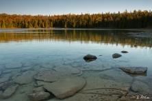 Marr Lake im letzten Licht