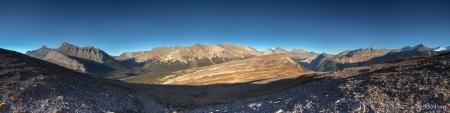 Aussicht vom Parker- Ridge Trail