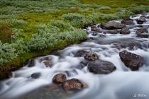Fluss auf dem Aurlandsfjellet