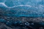 Kristallblaue Wellen