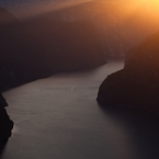Aurlandsfjord im Sonnenuntergang 1