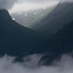 Wolkenmeer vom Stegastein